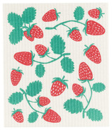 Now Designs Swedish Dish Cloth Strawberries