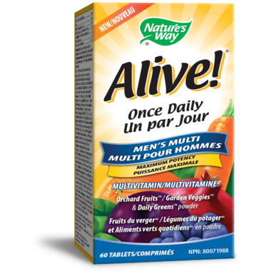 Nature\'s Way Alive! Once Daily Men\'s Ultra