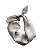 Mini Bretzel Hair Ribbon Silver