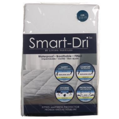 Living Textiles Waterproof Mattress Protector Standard Crib