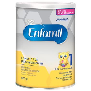Enfamil Lower In Iron Powder Formula