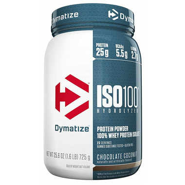 Dymatize Nutrition ISO100 Whey Hydrolysate Isolate Chocolate Coconut