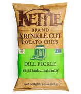 Kettle Dill Pickle Krinkle Cut Potato Chips