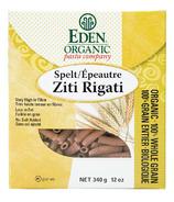 Eden Organic 100% Whole Grain Spelt Ziti Rigati Pasta