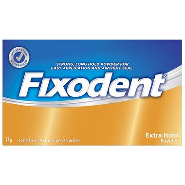 Fixodent Extra Hold Denture Adhesive Powder