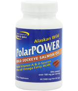 North American Herb & Spice PolarPOWER Wild Sockeye Salmon Oil