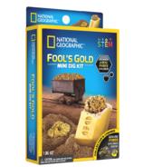 Mini kit de fouille d'or des fous de National Geographic (National Geographic Fool's Gold Mini Dig Kit)