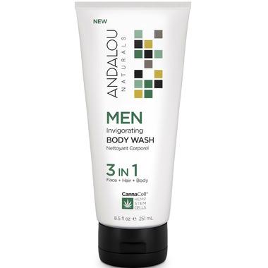 ANDALOU naturals MEN 3 in 1 Invigorating Body Wash