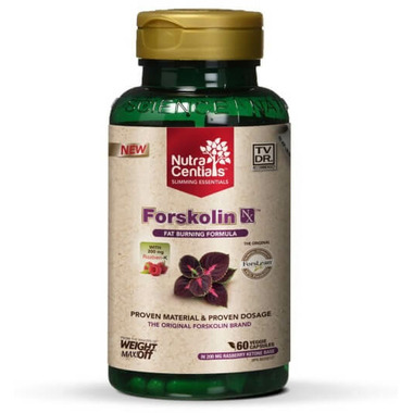 NutraCentials Forskolin Nx with Forslean & Razberi-K