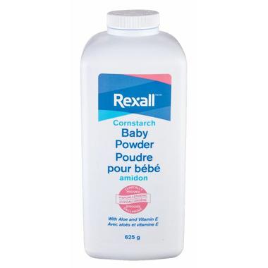 Rexall Cornstarch Baby Powder