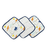 Loulou Lollipop Dinoland Wash Cloth Set