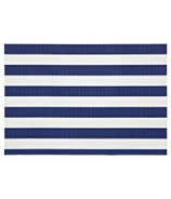 Harman Cabana Stripe Vinyl Placemat Navy