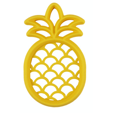 Itzy Ritzy Teething Happens Silicone Teether Pineapple