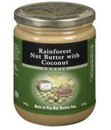 Nuts to You Beurre de noix de la forêt tropicale avec de la noix de coco