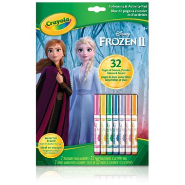 Crayola Frozen ll Colouring & Activity Book