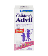 Advil Children's Suspension Dye Free Bubble Gum