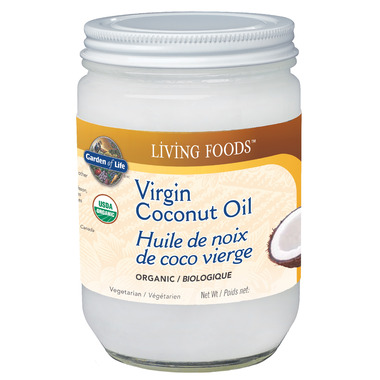 Garden of Life LIVING FOODS Virgin Coconut Oil