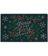 Now Designs Doormat Peace & Joy