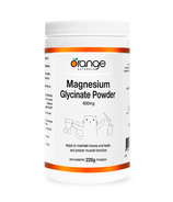 Orange Naturals Magnesium Glycinate Powder 400mg