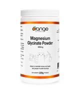 Poudre de glycinate de magnésium d'Orange Naturals 400mg