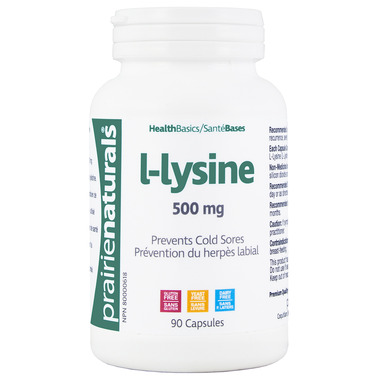Prairie Naturals Lysine 500 mg