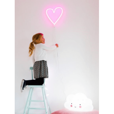 A Little Lovely Company Neon Light Heart
