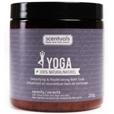 Scentuals Yoga Serenity 100% Natural Relaxing Bath Soak
