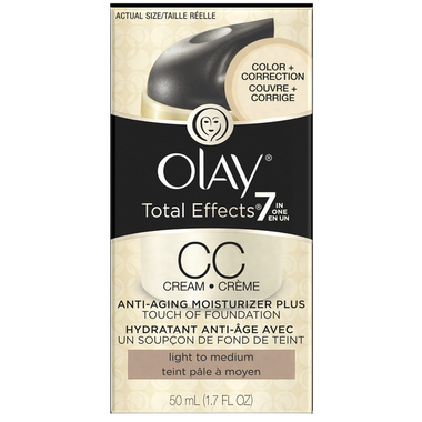 Olay Total Effects 7-in-1 CC Cream Plus Touch of Foundation