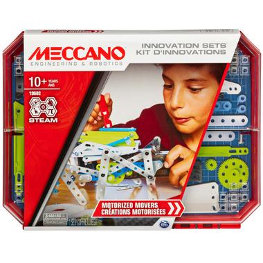 Meccano Engineering & Robotics Innovation Sets Motorized Movers