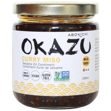 Abokichi OKAZU Curry Miso Sesame Oil Condiment Large
