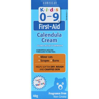 Homeocan Kids 0-9 First-Aid Calendula Cream