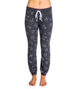 PJ Salvage What's Your Sign Astrological Banded Pant Charcoal