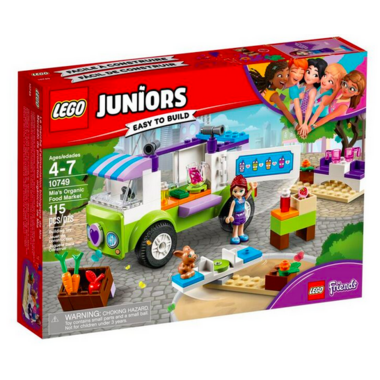 LEGO Juniors Mia\'s Organic Food Market