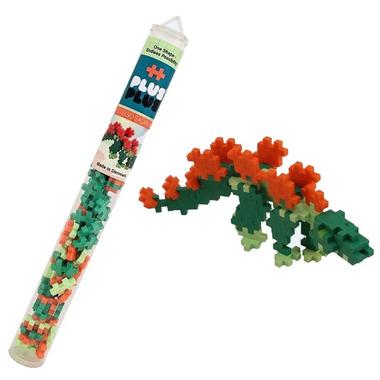 Plus Plus Mini Maker Tube Stegosaurus