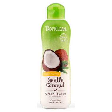 TropiClean Gentle Coconut Hypo-Allergenic Pet Shampoo