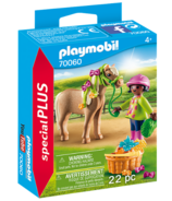 Playmobil Girl with Pony