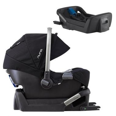 Nuna Pipa Infant Car Seat Bundle With Bonus Base Night