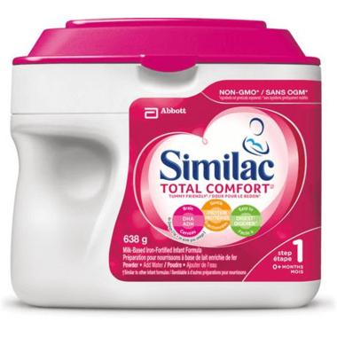 Similac Step 1 Total Comfort Infant Formula Powder