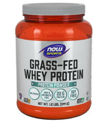 NOW Sports Grass-Fed Whey Protein Unflavoured