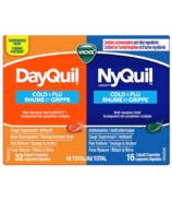 Vicks DayQuil Combinaison contre le rhume et la grippe