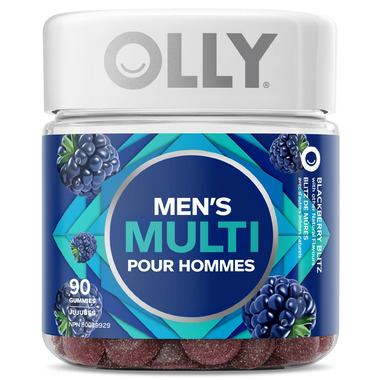 OLLY Men\'s Multi Blackberry Blitz