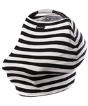 Milk Snob Cover Black & White Signature Stripes
