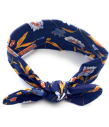 Baby Wisp Headband Top Knot Blue Paradise
