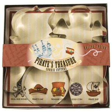 Pirate\'s Treasure Cookie Cutter Set