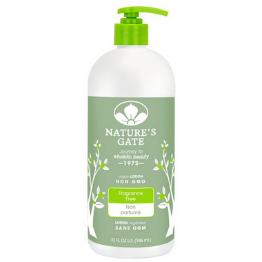 Nature\'s Gate Fragrance-Free Moisturizing Lotion