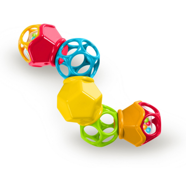 Oball Clicky Twistr Easy Grasp Rattle