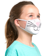 Hatley Non-Medical Reusable Kids Face Mask Cat