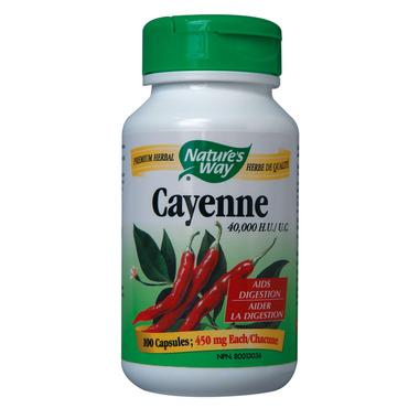 Nature\'s Way Cayenne 40,000 HU