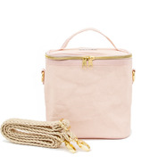 SoYoung Petite Poche with Braided Strap Blush Pink Paper