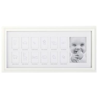 C.R. Gibson First Year Frame White